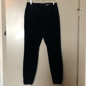 Blank NYC navy blue velvet leggings size 27